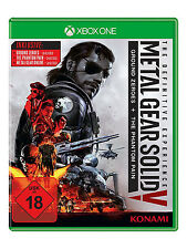 XBOX One Metal Gear Solid 5 the definitive experience 3 giochi + tutte DLCS NUOVO