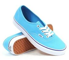 New Vans Mens 6.5 Womens 8 Authentic Cyan Blue True White Sneakers Shoes Skate