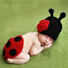 Newborn Knit Crochet Mermaid Bunny Clothes Baby Girls' Boys' Photo Prop Outfits