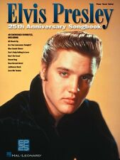 Elvis Presley 25th Anniversary Songbook Sheet Music Piano Vocal Guitar 000306496