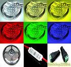 5M 600 LED Strip Light 3528 SMD Ribbon Waterproof Tape Roll IP65 12V UK