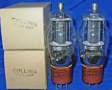 NOS / NIB Pair RCA 807 Tubes Boxed and Branded for Collins