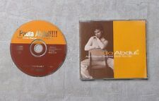 "CD AUDIO MUSIQUE / PAULA ABDUL ""AIN'T NEVER GONNA GIVE YOU UP"" CDM 4T 1995"
