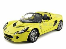 2003 LOTUS ELISE 111S YELLOW 1/18 DIECAST CAR MODEL BY WELLY 12535