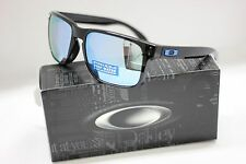 OAKLEY POLARIZED HOLBROOK SUNGLASSES | POLISHED BLACK / PRIZM DEEP H2O 9102-C1