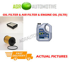 DIESEL OIL AIR FILTER + C1 5W30 OIL FOR MITSUBISHI OUTLANDER 2.0 140BHP 2006-10