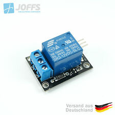 1-Kanal 12V/230V Relais Modul (bis 10A bei 250VAC) Arduino Raspberry PIC AVR ARM