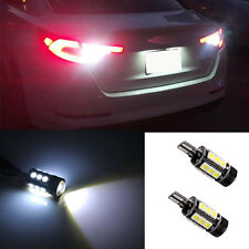 2* White SMD LED Reverse Back up Light Bulb For Benz W212 e class Error Free