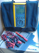 FLUKE 863 Graphical Multimeter, W/ Case
