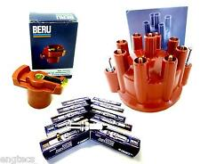 BERU MERCEDES ZÜNDVERTEILERSET W116 SE SEL W126 SL R107 450SE 380SE 500SE 350SL