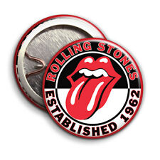 Rolling Stones - Button Badge - 25mm 1 inch - Lips