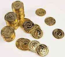 Pirate Treasure Gold Coins 72 pc. Party Favor Toy Halloween Costume Accessory