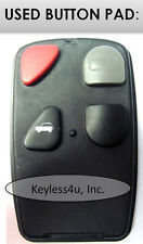 OEM replacement button pad 41848 keyless entry remote transmitter clicker keyfob