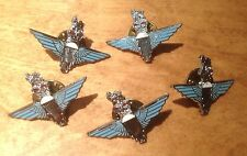 5 x British Army Parachute Regiment - lapel badges / wings - 5 of them unissued