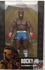 "CLUBBER LANG ""blue trunks"" ROCKY III Neca 40th Anniversary 2017 7"" inch FIGURE"