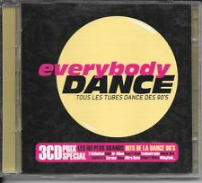 3 CD COMPIL 60 TITRES--EVERYBODY DANCE--GALA/DR ALBAN/DOUBLE YOU/JAYDEE/MODO