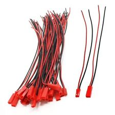 CO-RODE Male Female 200mm 22AWG Wire Cable 2Pin JST M F Connector for RC Battery