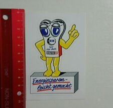 Aufkleber/Sticker: VEW Energiesparen leicht gemacht (07041660)