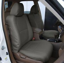 ACURA MDX 2002-2006 CHARCOAL S.LEATHER CUSTOM MADE FIT FRONT SEAT COVER