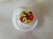 REBORN DOLLS WHITE DISNEY TIGGER MAGNETIC DUMMY / PACIFIER WITH MAGNET