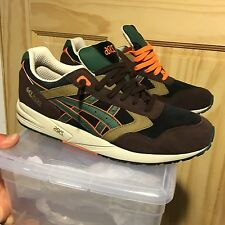 US Sz 13 ASICS GEL SAGA CAMO PACK H303L-9005 CONCEPTS FEIG KITH WEST NYC