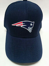 New England Patriots Cotton Logo on a Navy Blue Baseball cap hat! Adjustable!