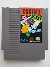 Casino Kid (Nintendo NES, 1989) Game Only--Cleaned & Tested (NTSC/US/CA)