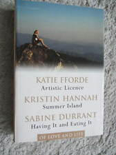 3 novels of love and life - Readers Digest selection - Fforde/Hannah/Durrant