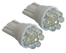 2x ampoule T10 W5W 12V 7LED blanc effet xénon veilleuses éclairage intérieur