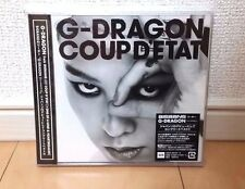 G-DRAGON COUP D'ETAT + ONE OF A KIND & HEARTBREAKER Japan 2CD AVCY-58118 BIGBANG