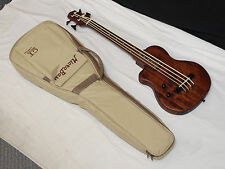 GOLD TONE MicroBass ME-Bass FRETLESS Short-Scale 4-string LEFTY BASS guitar wBAG