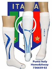 Italy Home & Away Socks White;UK 6-8;US 7-9; Euro 39-42; Adults POWERCAT