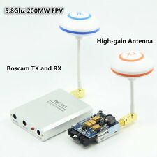 FPV 5.8Ghz 200mw AV TS351 Transmitter and RC305 Receiver with antenna for DJI