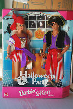 HALLOWEEN PARTY BARBIE & KEN GIFT SET, TARGET SPECIAL EDITION, 19874, 1998, NRFB