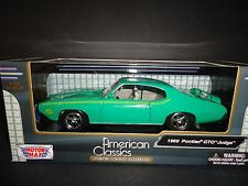 Motormax Pontiac GTO Judge 1969 Green 1/24