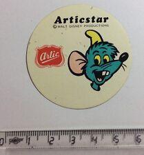 Autocollant ARTIC ARTICSTAR Walt Disney Production Souris Année 70/80