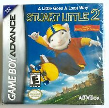 STUART LITTLE 2 NINTENDO GAMEBOY ADVANCE GAME ~ NEW AND SEALED