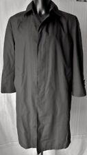 LONDON FOG Coat Trench uomo TG.36 Short (M/L) Bottoni logati colore grigio fumo