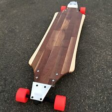 Longboard with Drop Plates made of Solid Wood - Highland