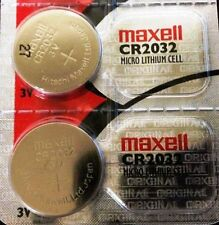 2 MAXELL CR2032 REPLACEMENT BATTERIES COMPATIBLE{*} w Audi Key FOB Remote