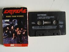 EXTREME - More than Words - MC Tape Kassette -A&M Records SEHR RARES MusicTape