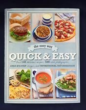 Quick & Easy Love Food Step-By-Step Nutritional Info Parragon Books