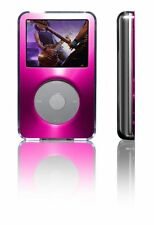 iPod Classic 5G Video 30 80GB 60GB Clear Acrylic Brushed Metal Case Pink BELKIN