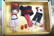 "Tonner Amelia Thimble 4"" Resin BJD Doll with 14 Joints-Gift Set NRFB"