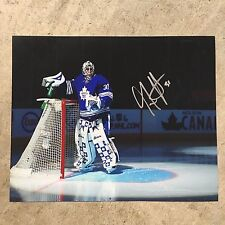 Garret Sparks #31 SIGNED 8x10 Photo - Toronto Maple Leafs NHL Autograph with COA