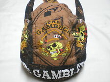 The Gambler Doo Rag Chef Hat Do Rag Bandanna Capsmith Biker Skullcap Head Wrap