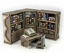 Librarian reading corner- D&D, Mordheim, dungeon terrain, dwarven forge, scenery
