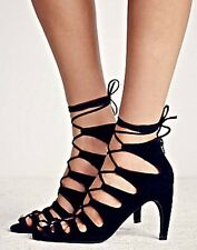 NEW Free People X Jeffrey Campbell Lace-Up Heels Size 7