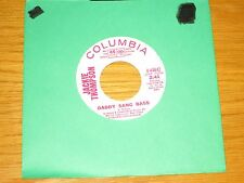 "PROMO SOUL 45 RPM - JACKIE THOMPSON - COLUMBIA 44842 - ""DADDY SANG BASS"""