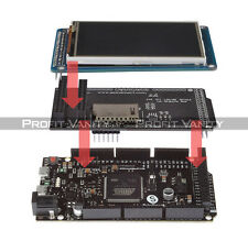 "SainSmart DUE + 3.2"" TFT LCD Screen + SD Card Slot + TFT Shield Kit For Arduino"